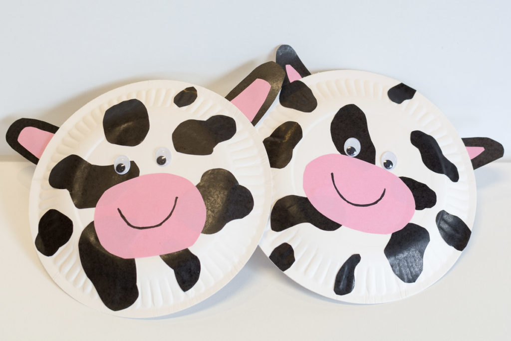 Share this & Paper Plate Cow Art - Creative Garden