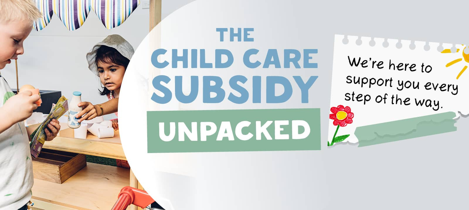A Guide to the Government Child Care Subsidy (CCS) & Childcare Rebates from Centrelink